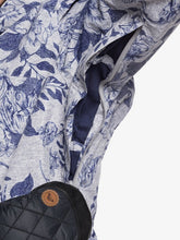 Roxy Women's Gore-Tex 2L Glade Printed Jacket Botanical Flowers Side opened close up pocket view