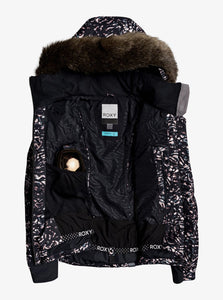 Roxy Women's Snowstorm Jacket Izi Open