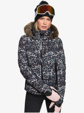 Roxy Women's Snowstorm Jacket Izi Model Front