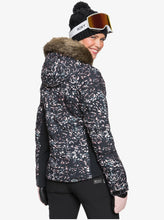 Roxy Women's Snowstorm Jacket Izi Model Back
