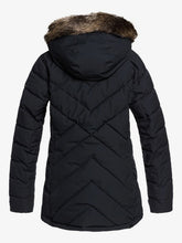 Roxy Women's Quinn Snow Jacket True black back view