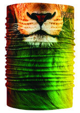 Function Double Tube Dual Layer Face Mask Neck Gaiter Rasta Lion Green Yellow Red Orange