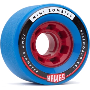 Mini Zombie 70mm Longboard Wheels