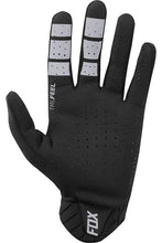 Fox Racing Men's Flexair Lightweight Mountainbike Glove Black Palm Bottom Touchscreen finger