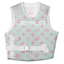 Jet Pilot MVP womans competition wake board water ski life jacket vest non coast guard approved mint green