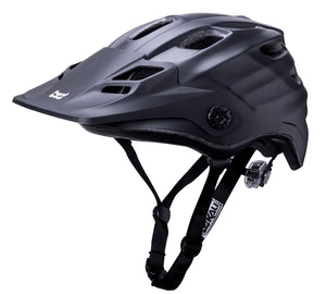 Maya Enduro Bike Helmet Solid Matte Black L/XL