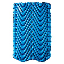 Double V Blue 2-Person Inflatable Sleeping Pad