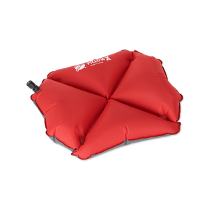 Pillow X Inflatable Camping Pillow Red