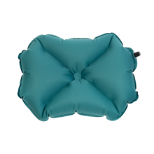 Teal Inflatable Camping Pillow X Large