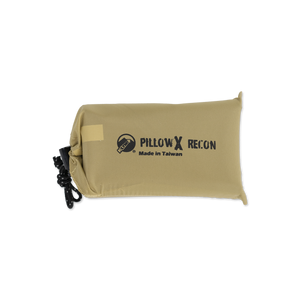 Recon Coyote-Sand Inflatable Camping Pillow X