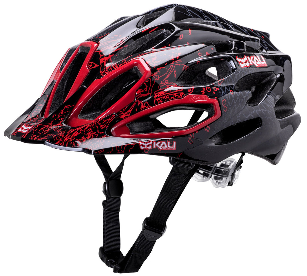 Maraka XC Edge Bike Helmet Red