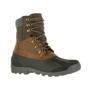 Kamik Hudson5 Men's -4deg f insulated waterproof winter snow boot drk brown main