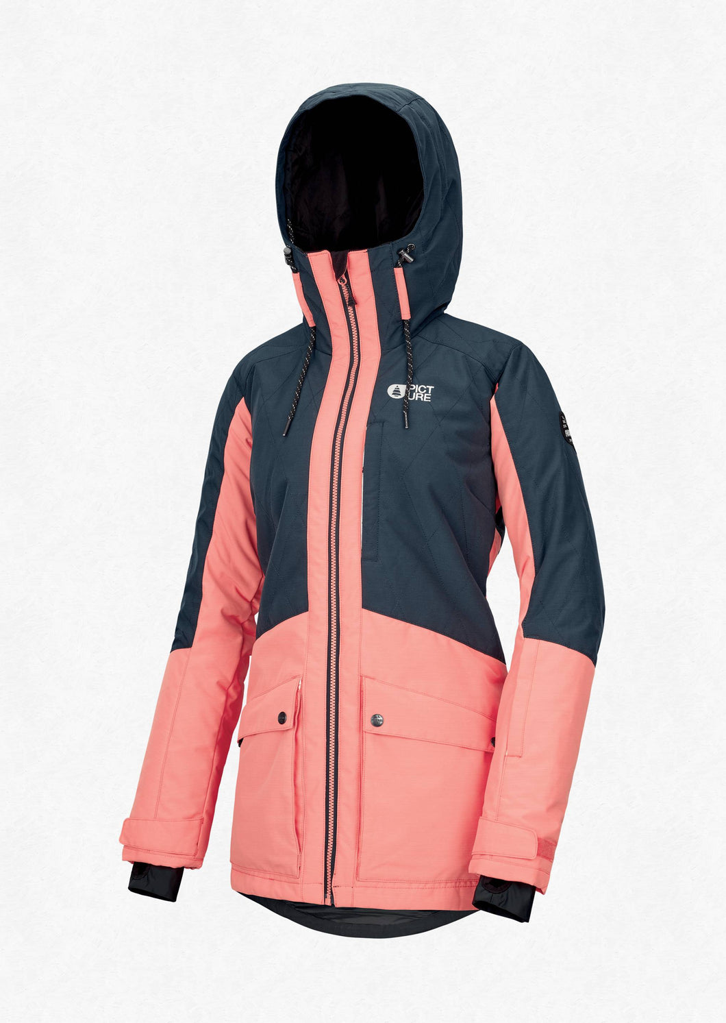 Picture Women's Mineral 10K Waterproof Ski and Snowboard Jacket Dark Blue Front