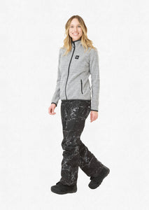 Picture Womens Moder Jacket Grey Front Model Full Profile