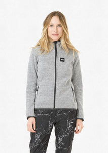 Picture Womens Moder Jacket Grey Front Model
