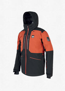 Picture Men's Naikoon 20k Waterproof Ski and Snowboard Jacket Brick Front