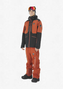 Picture Men's Naikoon 20k Waterproof Ski and Snowboard Jacket Brick Front Model