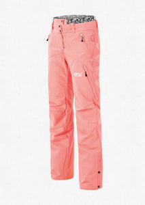 Picture Women's Treva 10K Waterproof Ski and Snowboard Snow Pant Coral Front