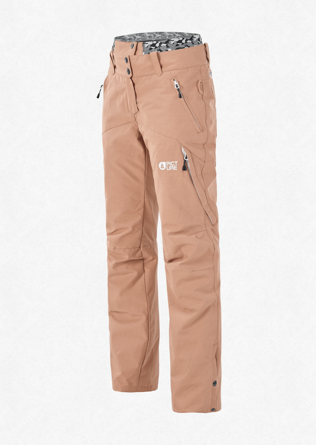 Picture Women's Treva 10K Waterproof Ski and Snowboard Snow Pant Sand Front