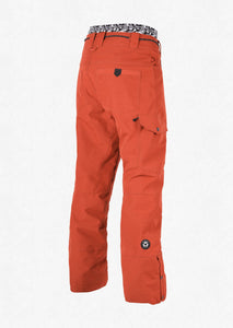 Picture Organic Clothing Men's Under Pant Ski and Snowboard Pant Brick Back
