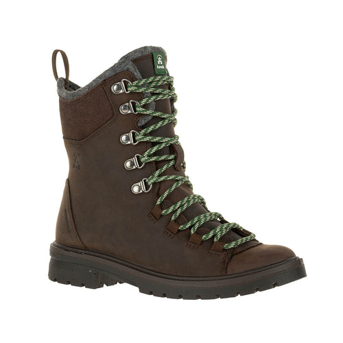 Kamik Roguehiker Women's 14deg F insulated waterproof winter hiking boot dark brown main