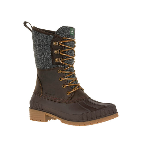 Kamik Sienna2 high top waterproof insulated winter boot chocolate main