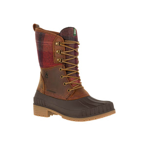 Kamik Sienna2 high top waterproof insulated winter boot dark brown main