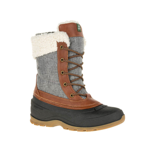 Kamik SnowPearl -40deg f insulated waterproof winter boots charcoal main