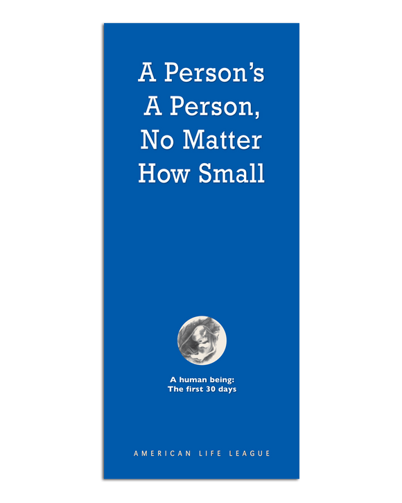 A Person's a Person, No Matter How Small