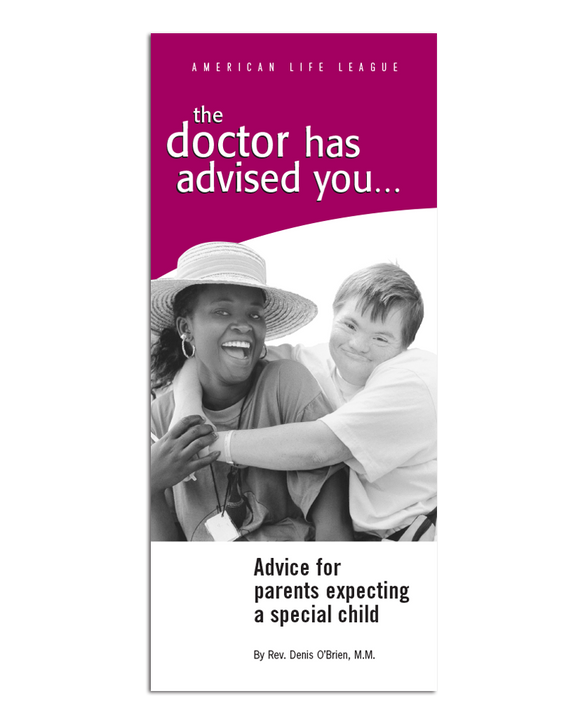 The Doctor Has Advised You: Advice for parents expecting a special child