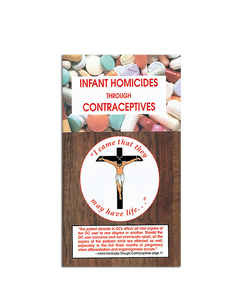 Infant Homicides Through Contraception