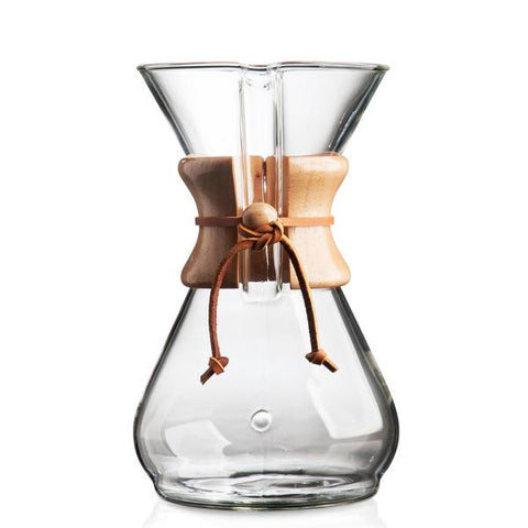 Chemex 8 tasses - Extraction manuelle