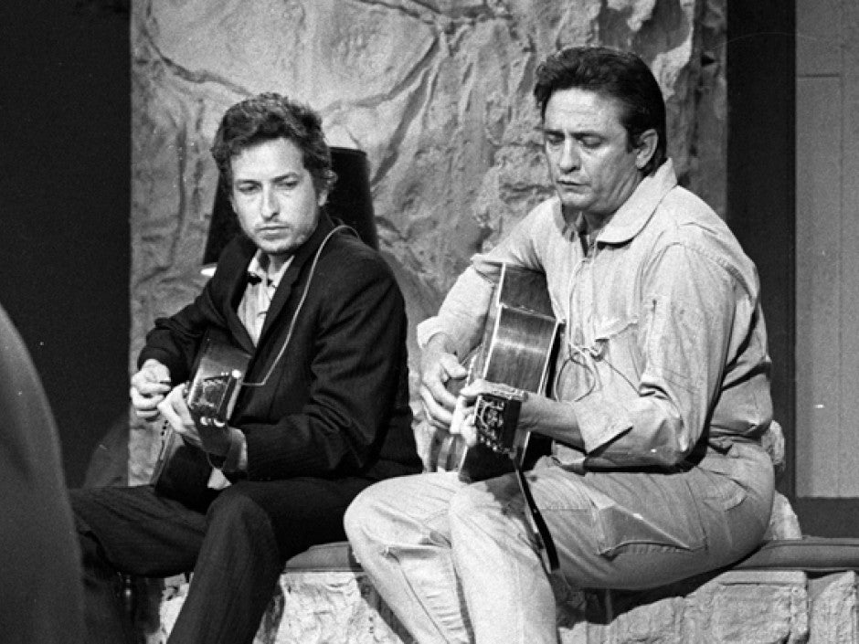 Collaborative Bob Dylan and Johnny Cash sessions to be released
