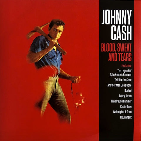 Cash, Johnny - Blood, Sweat and Tears (RI/180G)
