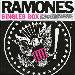 "Ramones - Singles Box (2017RSD/10x7""/Box Set/Ltd Ed)"
