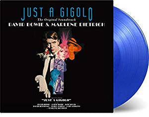 Bowie, David & Dietrich, Marlene - Just A Gigolo OST (Ltd Ed/RI/180G/Transparent Blue vinyl)