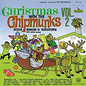 Alvin and The Chipmunks - Christmas With The Chipmunks Vol. 2 (RI)