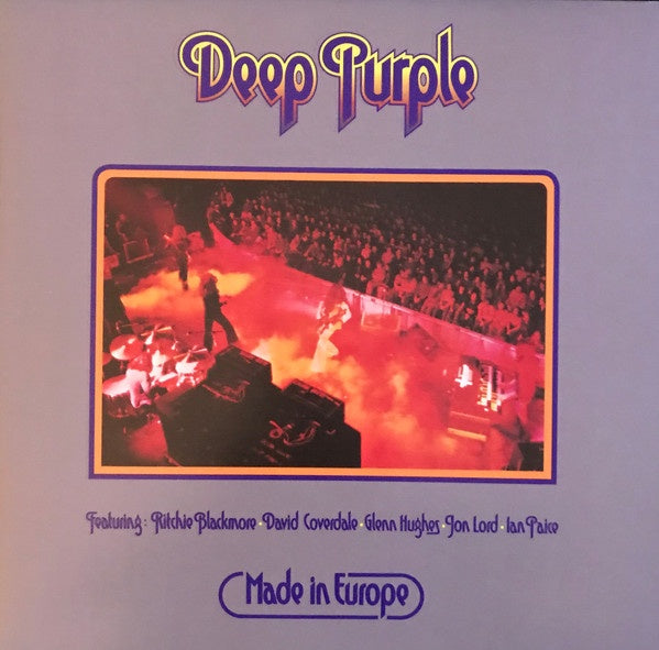 Deep Purple - Made in Europe (Ltd Ed/RI/Purple vinyl)