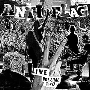 Anti-Flag - Live Volume 2 (Ltd Ed/Smoky Red vinyl)