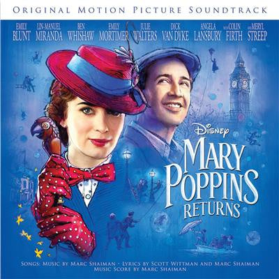 Shaiman, Marc & Wittman, Scott - Mary Poppins Returns: The Songs (Transparent Red vinyl)