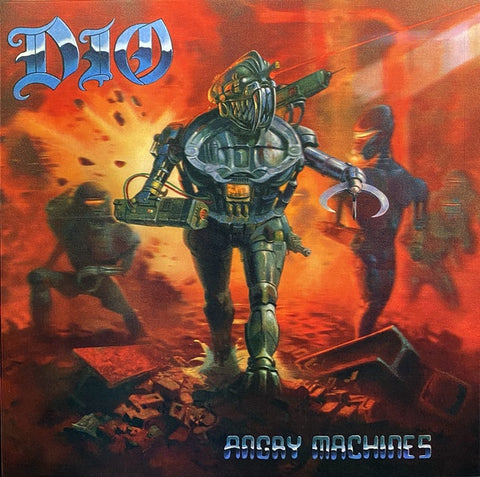 Angry Machines (Lenticular 3D Art Card /180g Black Vinyl)