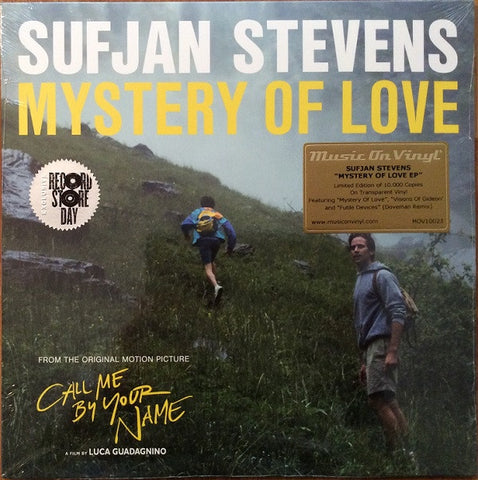 "Stevens, Sufjan - Mystery Of Love (From Call Me By Your Name) (2018RSD/10""/Ltd Ed/Transparent vinyl)"
