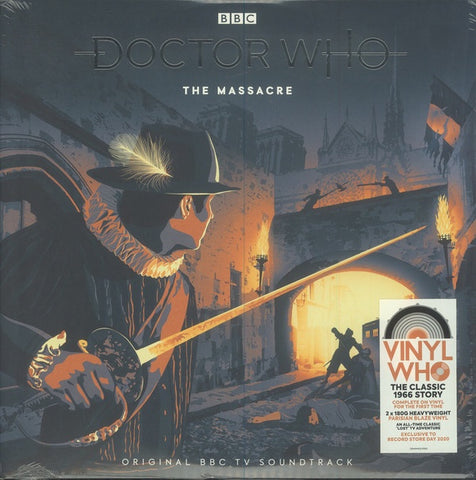 Doctor Who - The Massacre (2020RSD/2LP/Ltd Ed/RI/180G/Parisian Blaze vinyl)
