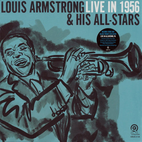 Armstrong, Louis & His All-Stars - Live in 1956, Allentown PA (2019RSD2/Ltd Ed/Coloured vinyl)