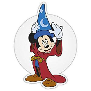 "Mickey Mouse 90 - Fantasia: The Sorcerer's Apprentice (10""/Ltd Ed/Die-Cut Picture Disc)"