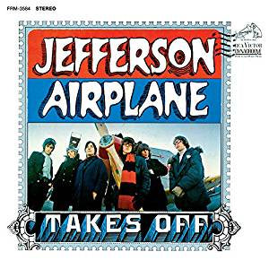 Jefferson Airplane - Takes Off (RI/180G/Blue vinyl)