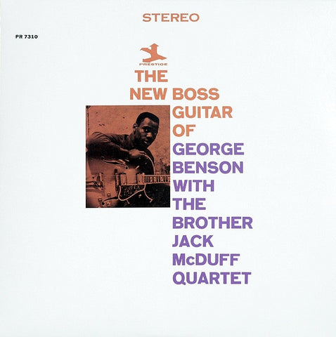 Benson, George with The Brother Jack McDuff Quartet - The New Boss Guitar of George Benson (RI)