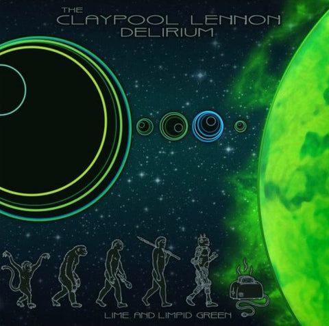 "Claypool Lennon Delirium - Lime and Limpid Green (10""/Ltd Ed/Green Splatter vinyl)"