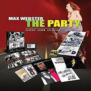 Max Webster - The Party: 1976-1982 (8LP Box Set/Ltd Ed)