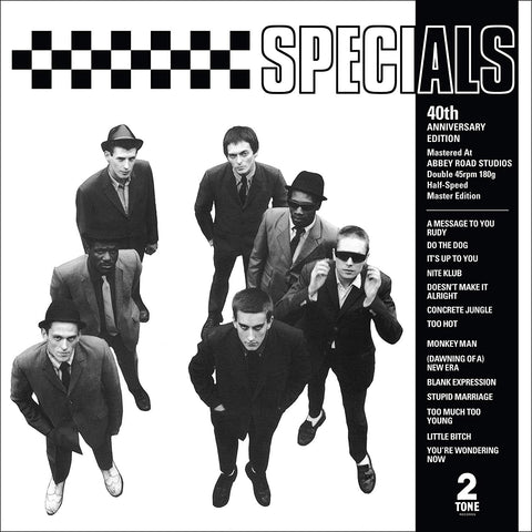 Specials - The Specials (2LP/40th Anniversary half speed master)